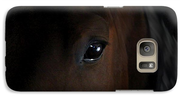 Galaxy Case featuring the photograph Eye Of The Beholder by Davandra Cribbie