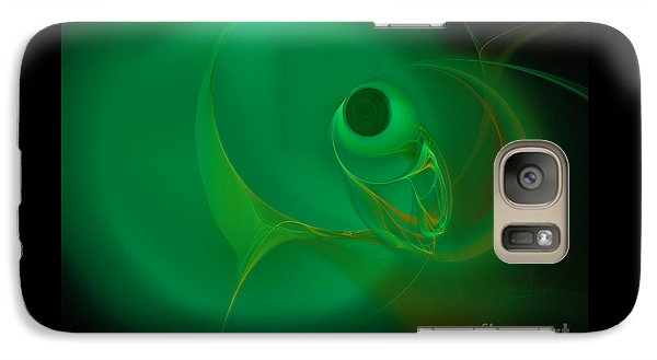 Galaxy Case featuring the digital art Eye Of The Fish by Victoria Harrington
