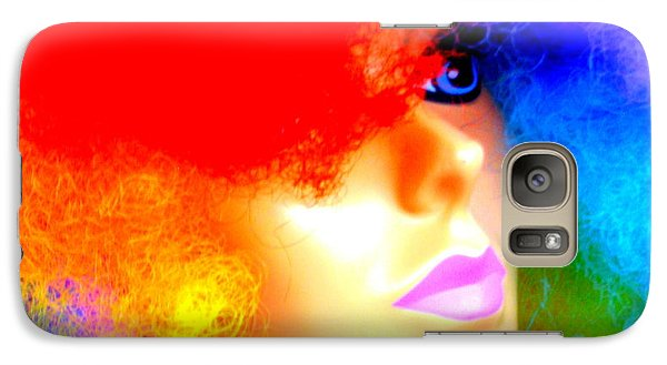 Galaxy Case featuring the photograph Eye Of The Rainbow by John King