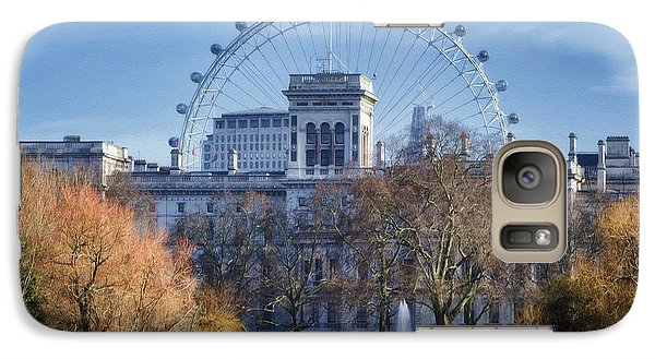 London Eye Galaxy S7 Case - Eyeing The View by Joan Carroll