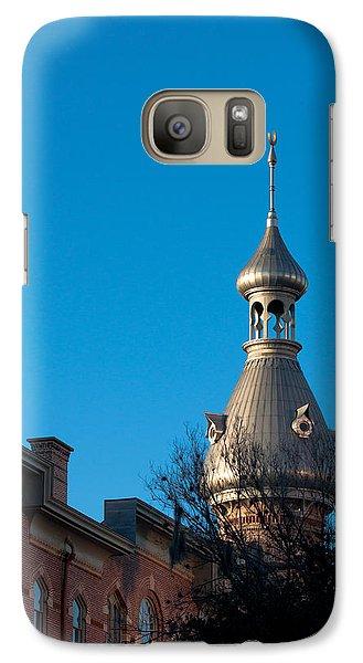 Galaxy Case featuring the photograph Facade And Minaret by Ed Gleichman