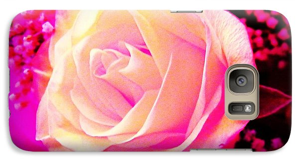 Galaxy Case featuring the photograph Fairy Rose by Michelle Frizzell-Thompson