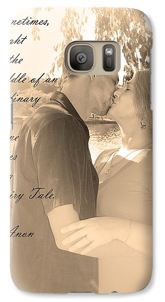 Galaxy Case featuring the photograph Fairy Tale by Kelly Hazel