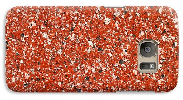 Fake Granite Galaxy S7 Case by Henrik Lehnerer