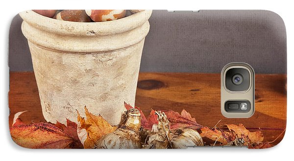 Galaxy Case featuring the photograph Fall Bulbs 1 by Verena Matthew