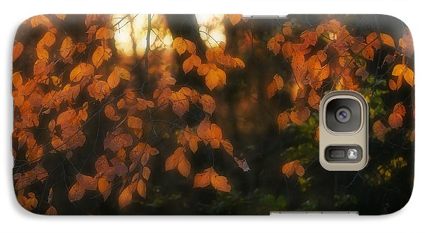 Galaxy Case featuring the photograph Fall Colours by Art Whitton