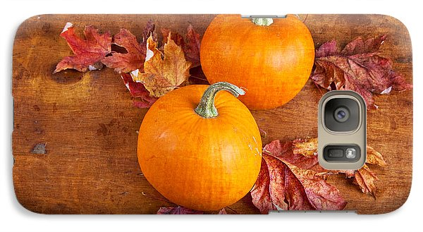 Galaxy Case featuring the photograph Fall Decorative Pumpkins by Verena Matthew