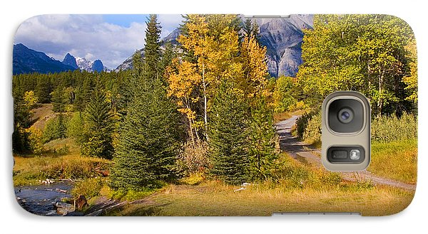 Galaxy Case featuring the photograph Fall In Banff National Park by Bob and Nancy Kendrick