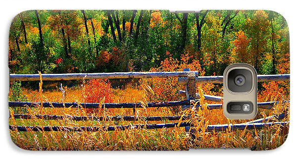 Galaxy Case featuring the photograph Fall  by Janice Westerberg