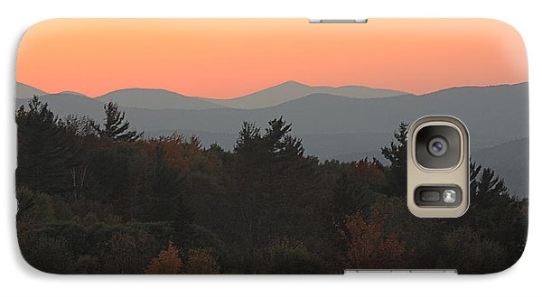 Galaxy Case featuring the photograph Fall Sky At Sunset by Robin Regan