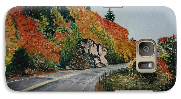 Galaxy Case featuring the painting Fall Splendor by Betty-Anne McDonald