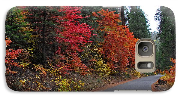 Galaxy Case featuring the photograph Fall's Splendor by Lynn Bauer