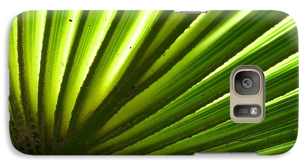 Galaxy Case featuring the photograph Fan Frond by Ginny Schmidt