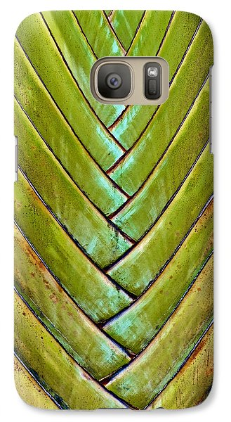 Galaxy Case featuring the photograph Fan Lines by Britt Runyon
