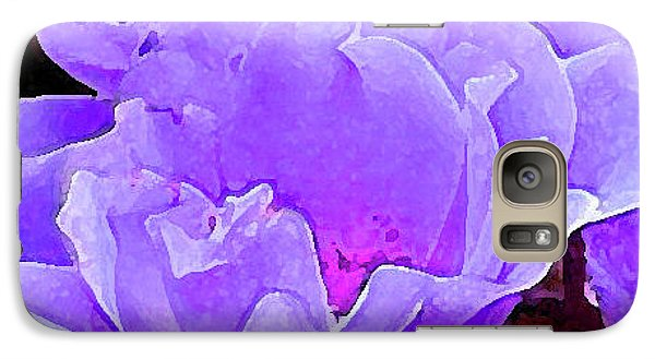 Galaxy Case featuring the photograph Fantasia Flower by Roena King