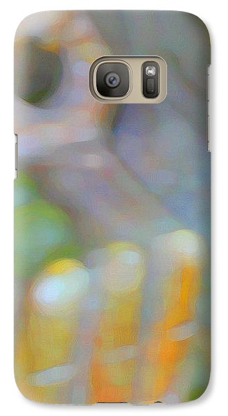 Galaxy Case featuring the digital art Fearlessness by Richard Laeton
