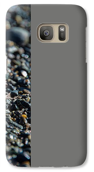 Galaxy Case featuring the photograph White Feather by Marilyn Wilson