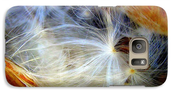 Galaxy Case featuring the photograph Feathery Spider by Bruce Carpenter