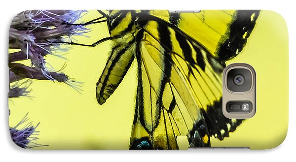 Galaxy Case featuring the photograph Female Tiger Swallowtail Butterfly by Brian Stevens