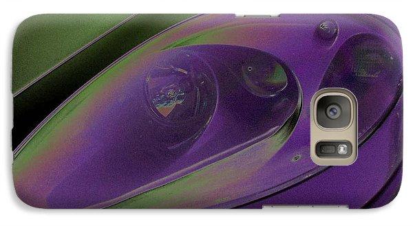 Galaxy Case featuring the photograph Ferrari Light by Carolina Liechtenstein