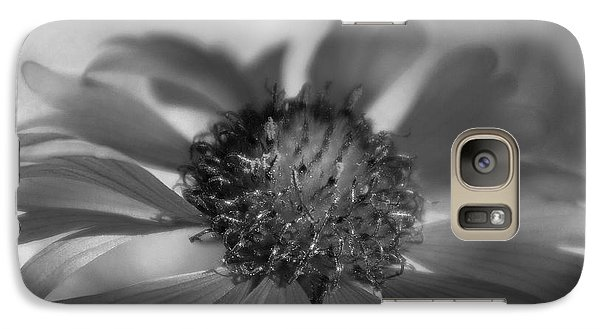 Galaxy Case featuring the photograph Firewheel In Mono by Vicki Pelham