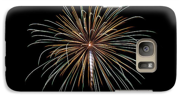 Galaxy Case featuring the photograph Fireworks 10 by Mark Dodd