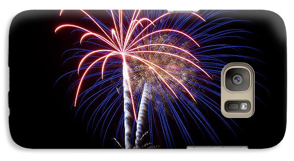 Galaxy Case featuring the photograph Fireworks 12 by Mark Dodd