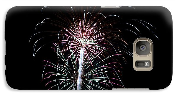 Galaxy Case featuring the photograph Fireworks 13 by Mark Dodd