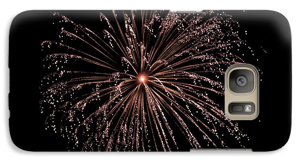 Galaxy Case featuring the photograph Fireworks 3 by Mark Dodd