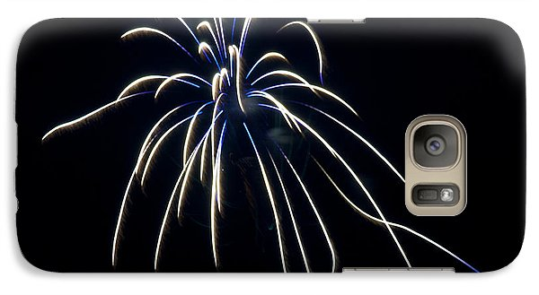 Galaxy Case featuring the photograph Fireworks 4 by Mark Dodd
