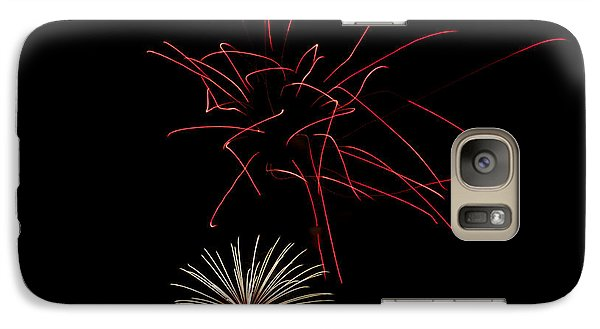 Galaxy Case featuring the photograph Fireworks 6 by Mark Dodd