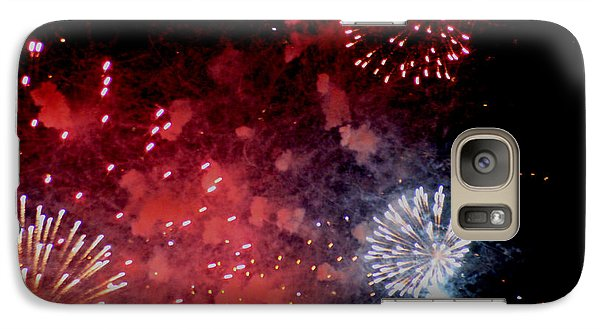 Galaxy Case featuring the photograph Fireworks II by Kelly Hazel