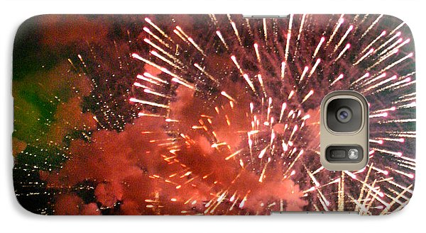 Galaxy Case featuring the photograph Fireworks by Kelly Hazel