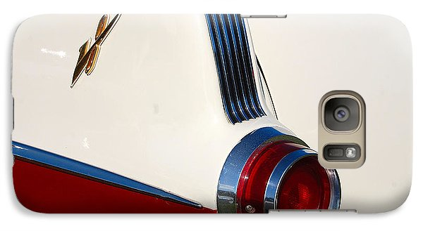 Galaxy Case featuring the photograph First Pontiac V8 1955 by John Schneider