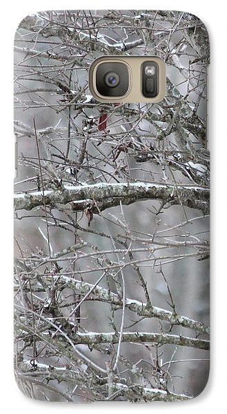 Galaxy Case featuring the photograph First Snow Fall by Kume Bryant