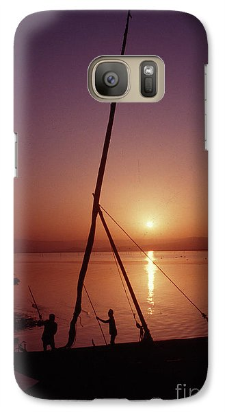 Galaxy Case featuring the photograph Fishermen by Vilas Malankar