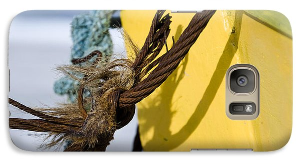 Galaxy Case featuring the photograph Fishermens' Knot by Agnieszka Kubica