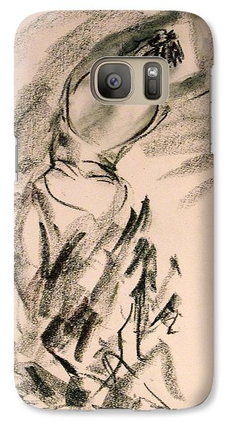 Galaxy Case featuring the painting Flamenco Dancer 4 by Koro Arandia