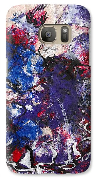 Galaxy Case featuring the painting Flamenco Dancer 6 by Koro Arandia