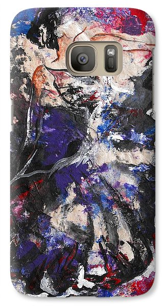 Galaxy Case featuring the painting Flamenco Dancer 7 by Koro Arandia