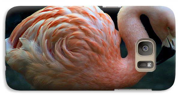 Galaxy Case featuring the photograph Flamingo by Tammy Espino