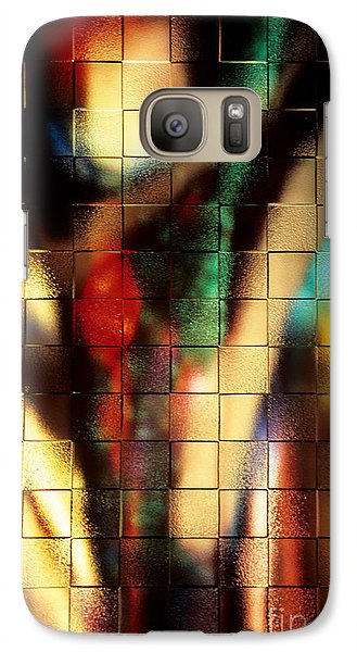 Galaxy Case featuring the photograph Floral Abstract II by Sharon Elliott