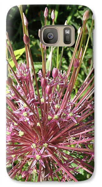 Galaxy Case featuring the photograph Floral Unique by Rebecca Overton
