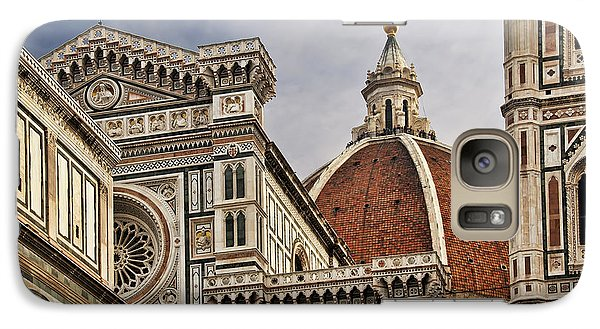 Galaxy Case featuring the photograph Florence Duomo by Steven Sparks