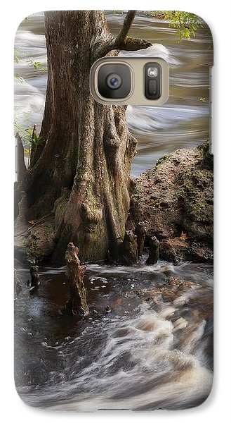 Galaxy Case featuring the photograph Florida Rapids by Steven Sparks