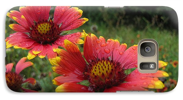 Galaxy Case featuring the photograph Flower by John Crothers