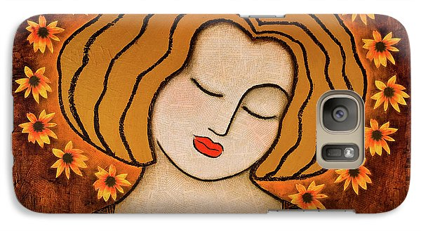 Galaxy Case featuring the painting Flowering Intuition by Gloria Rothrock