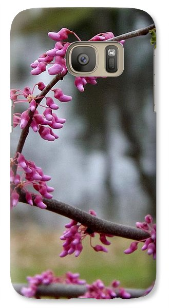 Galaxy Case featuring the photograph Flowering Tree 1 by Gerald Strine