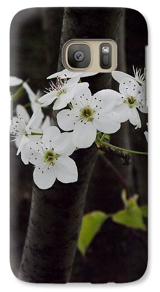 Galaxy Case featuring the photograph Flowering Tree 4 by Gerald Strine