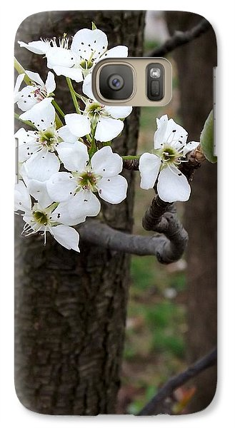 Galaxy Case featuring the photograph Floweringtree 2 by Gerald Strine
